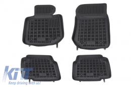 Floor mat black fits to suitable for BMW 3 (E36) 1991-1998  - 200701
