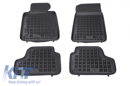 Floor mat black fits to suitable for BMW 3 (E93) Cabrio 2007-2014 - 200706