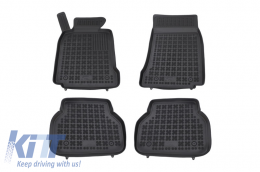 Floor mat black fits to suitable for BMW 5 (E39) 1996-2003  - 200704