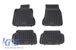 Floor mat black fits to suitable for BMW 7 (F01) 2008-2015 - 200707