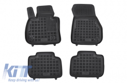 Floor mat black fits to suitable for BMW X1 (F48) 2015-  - 200724