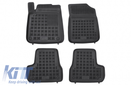 Floor mat black fits to suitable for CITROEN C3 II 2009-2016  - 201213
