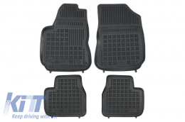 Floor mat black fits to suitable for CITROEN C4 Cactus 2014-  - 201228