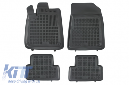 Floor mat black fits to suitable for CITROEN C5 2001-2008  - 201214