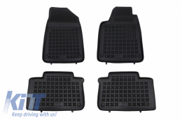 Floor mat black fits to suitable for CITROEN C6 I (2005-2012) - 201207