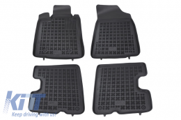 Floor mat black fits to suitable for DACIA Sandero 2008-2012  - 203403