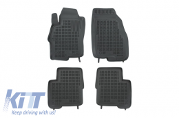 Floor mat black fits to suitable for FIAT Linea I 2006-   - 201507
