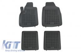 Floor mat black fits to suitable for FIAT Panda II 2003-2012  - 201502
