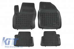 Floor mat black fits to suitable for FORD C-Max I/II 2003-, Grand C-Max 2010-   - 200612