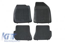 Floor mat black fits to suitable for FORD Fiesta V 2002-2006  - 200610