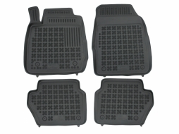 Floor mat black fits to suitable for FORD Fiesta VII 08/2008-  - 200602