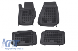 Floor mat black fits to suitable for JEEP Grand Cherokee III 2005-2010 - 203102