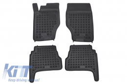 Floor mat black fits to suitable for KIA Sorento I 2003-2009 - 201010