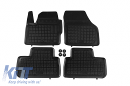 Floor mat black fits to  suitable for Land ROVER  Freelander II 2007-  - 202901