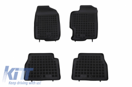 Floor mat black fits to suitable for MAZDA 6 I 2002 - 2008, 6 II 2008 - 2012 - 200801