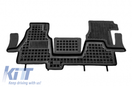 Floor mat black fits to/ suitable for MERCEDES Sprinter I 2000-2006  - 201711