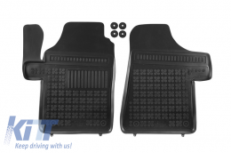 Floor mat black fits to/ suitable for MERCEDES Viano I, Vito II 2003-2014  - 201713