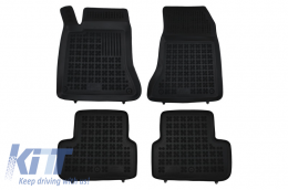 Floor mat black fits to/ suitable for MERCEDES W246 B-Class 2011- - 201715