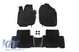 Floor mat black fits to suitable for TOYOTA Rav4 2006-2012  - 201406