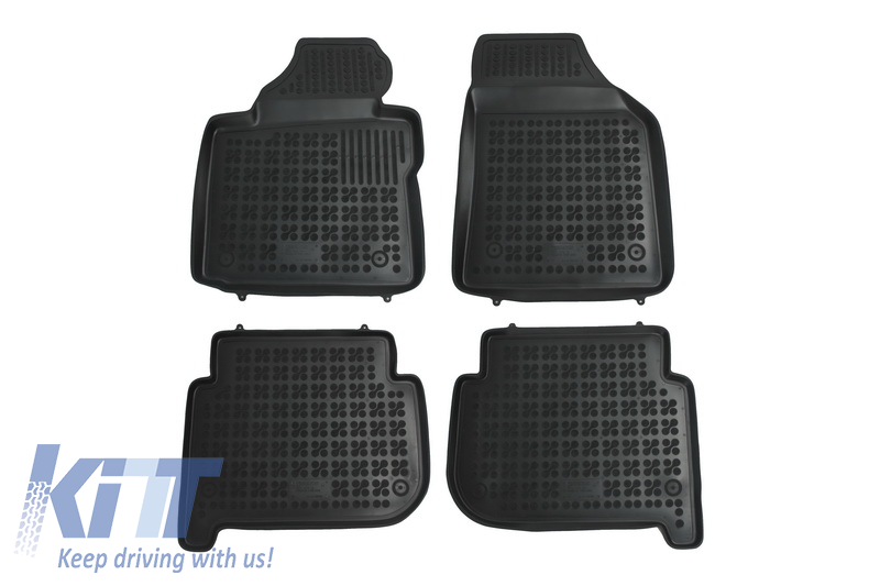 Floor Mat Black Fits To Volkswagen Touran I 2003 2010touran Ii