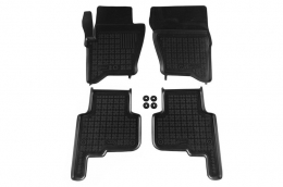 Floor mat black fits to  suitable for Land ROVER  Discovery III/IV 2004- - 202902