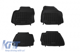 Floor mat Black Ford Mondeo IV 026 2007 - 2014 - 200605