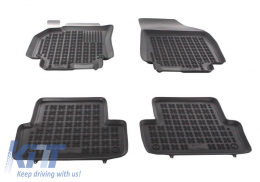 Floor mat Black Renault Fluence 2009 - 201910