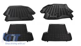 Floor mat Black Renault Megane 3 2008 - 201902
