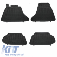 Floor mat Black Rubber BMW Series 5 F10 F11 2010-2013