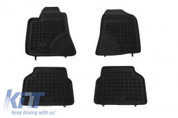 Floor mat Black suitable for TOYOTA Avensis 2003 - 2009 - 201404