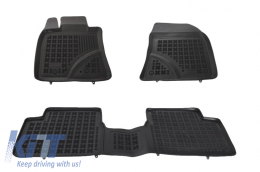 Floor mat Black suitable for TOYOTA Avensis 2009-2018 - 201405