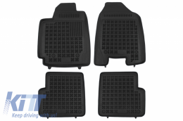 Floor mat Black suitable for Toyota COROLLA IX (E120, E130) 2002 - 2007 with a fire extinguisher - 201402
