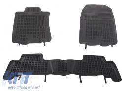 Floor mat Black suitable for TOYOTA LAND CRUISER J150 IV 2010 - 201416