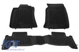 Floor mat Black suitable for TOYOTA Land Cruiser J120 2002 - 201410
