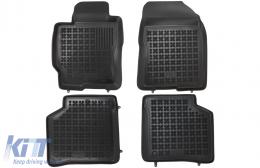 Floor Mat Black suitable for Toyota PRIUS II XW20 (2003-2009) - 201414