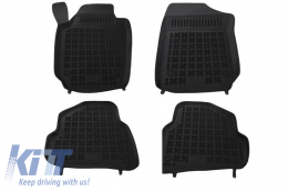 Floor mat Black Volkswagen Polo V 2009