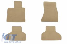 Floor mat Carpet beige BMW X5 (F15) 11/2013- - 114515009