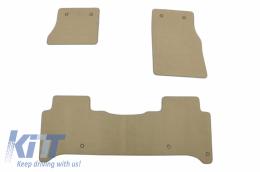 Floor mat Carpet beige suitable for ROVER suitable for Range ROVER L405 2015