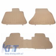 Floor mat Rubber Beige BMW X5 F15 2013-, X6 F16 2014- - 200718B