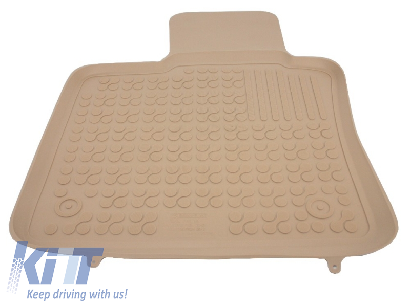 Floor Mat Rubber Beige Bmw X5 F15 2013 X6 F16 2014