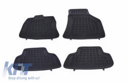 Floor mat Rubber Black AUDI A3 S3 Sportback 2012+ VOLKSWAGEN Golf 7 VII 2012+