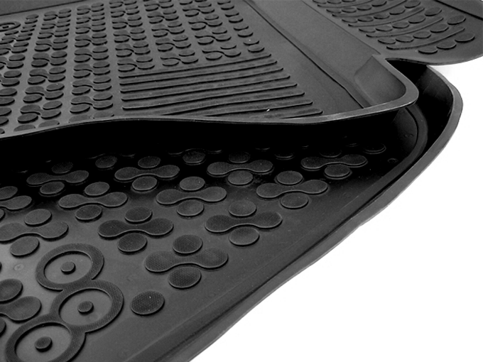 Floor Mat Rubber Black Audi Q5 2008 2011