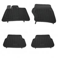 Floor mat Rubber Black AUDI Q7 4L 2005-2014