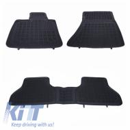 Floor mat Rubber Black BBMW X5 E70 2006-2013, X6 E71 2008-2014