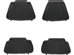 Floor mat Rubber Black BMW Series 3 E46 E90 E91 Sedan, Touring Series 3 F30 F31 F36