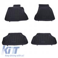 Floor mat Rubber Black BMW Series 5 E60 E61 2004-2010