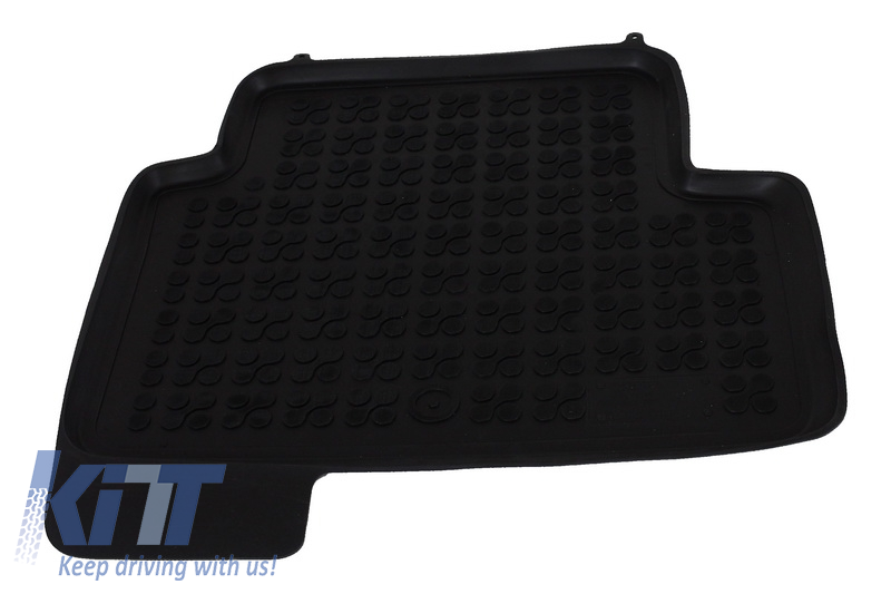 Floor Mat Rubber Black Ford Kuga Ii 2013