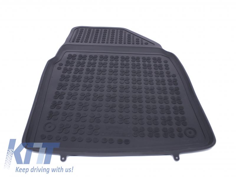 Floor Mat Rubber Black Nissan Qashqai 2007 2014