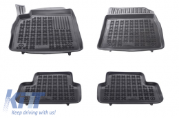 Floor mat Rubber Black OPEL Astra J 2010-2015