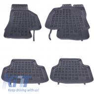 Floor mat Rubber Black SEAT Leon III 2013+, Leon ST 2014+